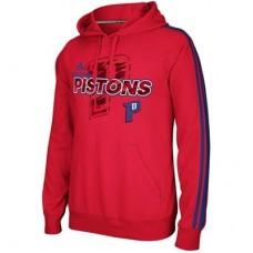 Detroit Pistons - Tip-Off 3-Stripe NBA Mikina s kapucňou