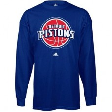 Detroit Pistons - Prime Logo NBA Tričko s dlhým rukávom