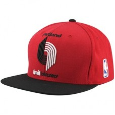 Portland Trail Blazers - Mitchell & Ness XL Logo Two Tone NBA Čiapka