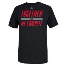 Portland Trail Blazers - Together We Compete Playoffs Slogan NBA Tričko