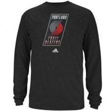 Portland Trail Blazers - Primary Logo ClimaLITE NBA Tričko s dlhým rukávom