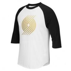 Portland Trail Blazers - Precious Metals Raglan NBA Tričko s dlhým rukávom