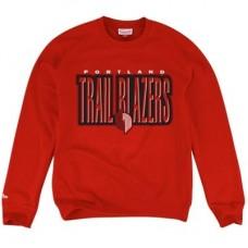 Portland Trail Blazers - Mitchell & Ness Retro Blur NBA Mikina s kapucňou