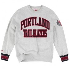 Portland Trail Blazers - Mitchell & Ness Team Celebration Crew NBA Mikina