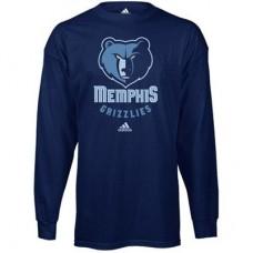 Memphis Grizzlies - Prime Logo NBA Tričko s dlhým rukávom