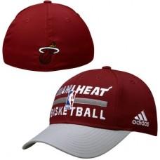 Miami Heat detská - Practice Graphic Flex NBA Čiapka