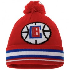 LA Clippers detská - Cuffed Knit Hat with Pom NBA Čiapka