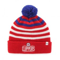 LA Clippers detská - Yipes Cuffed NBA Čiapka