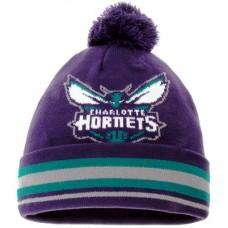 Charlotte Hornets detská - Cuffed Knit Hat with Pom NBA Čiapka