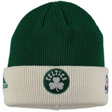 Boston Celtics detská - On Court Waffle Cuffed NBA Čiapka