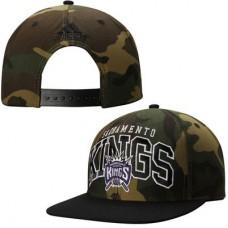 Sacramento Kings - Camo Adjustable NBA Čiapka