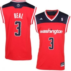 Washington Wizards - Bradley Beal Fashion Replica NBA Dres