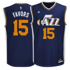 Utah Jazz - Derrick Favors Replica NBA Dres