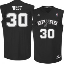 San Antonio Spurs - David West Replica NBA Dres
