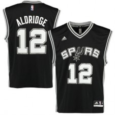 San Antonio Spurs - LaMarcus Aldridge Replica NBA Dres