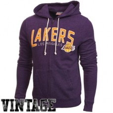Los Angeles Lakers - Half Time Full Zip V NBA Mikina s kapucňou
