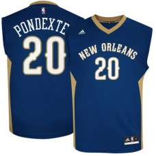 New Orleans Pelicans - Quincy Pondexter Replica NBA Dres