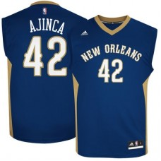 New Orleans Pelicans - Alexis Ajinca Replica NBA Dres