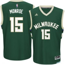 Milwaukee Bucks - Greg Monroe Replica NBA Dres