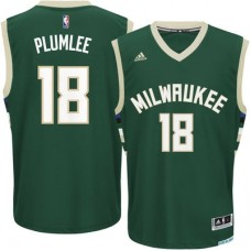 Milwaukee Bucks - Miles Plumlee Replica NBA Dres