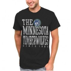 Minnesota Timberwolves - Word Block NBA Tričko