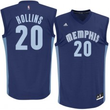 Memphis Grizzlies - Ryan Hollins Replica NBA Dres