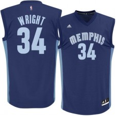 Memphis Grizzlies - Brandan Wright Replica NBA Dres