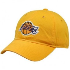 Los Angeles Lakers - Yellow Basic Logo NBA Knit Čiapka