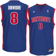 Detroit Pistons - Spencer Dinwiddie Replica NBA Dres