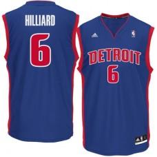Detroit Pistons - Darrun Hilliard Replica NBA Dres
