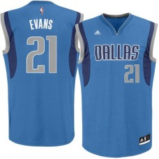 Dallas Mavericks - Jeremy Evans Replica NBA Dres