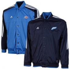 Oklahoma City Thunder Detske - Reversible Warm-up FF NBA Bunda