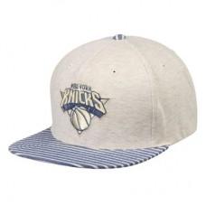 New York Knicks - Oatmeal Heathered Snapback NBA Čiapka