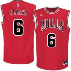 Chicago Bulls - Cristiano Felicio Replica NBA Dres