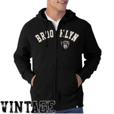 Brooklyn Nets - Striker Full Zip  NBA Mikina s kapucňou