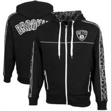 Brooklyn Nets -  Lightning Full Zip Hoodie NBA Mikina s kapucňou