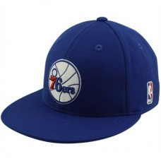 Philadelphia 76ers - Flat Bill Fitted FF NBA Čiapka