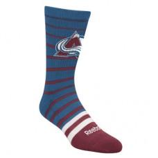 Colorado Avalanche - Striped Crew NHL Ponožky
