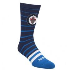 Winnipeg Jets - Striped Crew NHL Ponožky
