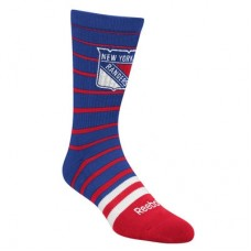 New York Rangers - Striped Crew NHL Ponožky