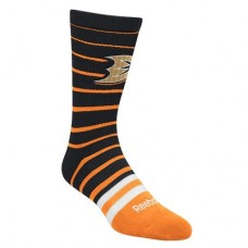 Anaheim Ducks - Striped Crew NHL Ponožky