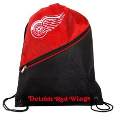 Detroit Red Wings - High End Diagonal Zipper NHL Vrecko