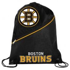 Boston Bruins - High End Diagonal Zipper NHL Vrecko