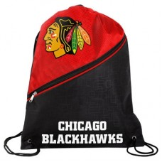 Chicago Blackhawks - High End Diagonal Zipper NHL Vrecko