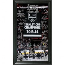 Los Angeles Kings - 2014 Stanley Cup Champions Banner Raising NHL Fotka
