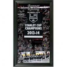Los Angeles Kings - 2014 Stanley Cup Champions Banner Raising NHL Fotka