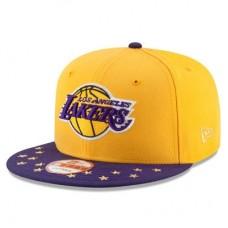 Los Angeles Lakers - Current Logo Star Trim Commemorative Champions NBA Čiapka