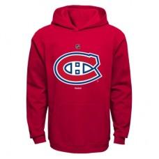 Montreal Canadiens Detská - Primary Logo Fleece NHL Mikina s kapucňou