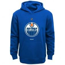 Edmonton Oilers Detská - Primary Logo Fleece NHL Mikina s kapucňou