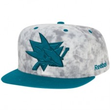 San Jose Sharks - Acid Wash Snapback NHL Čiapka